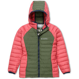 Columbia Powder Lite Capuchon Jas Peuters, cypress/wild salmon